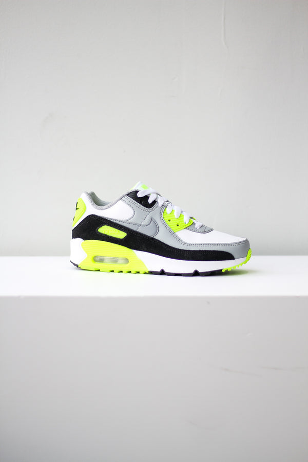 "NIKE AIR MAX 90 LTR (GS) ""VOLT"""