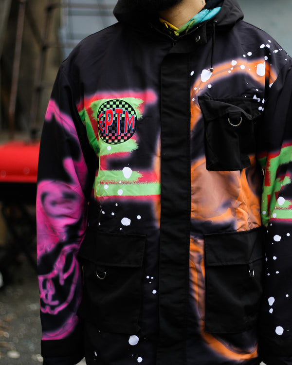 "EPTM SKULL SKI JUMPER JACKET ""MULTICOLOR"""