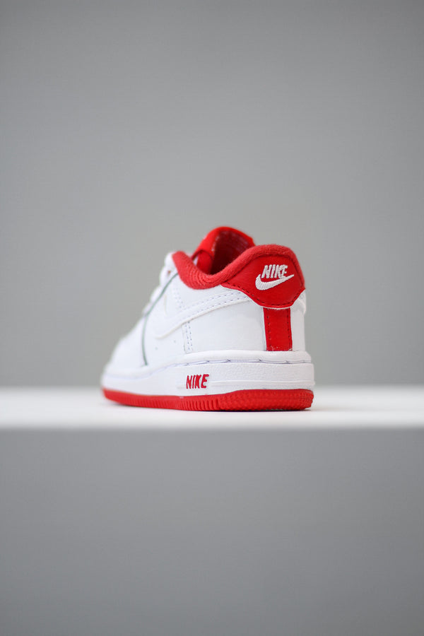 "NIKE FORCE 1-1 (TD) ""UNIVERSITY RED"""