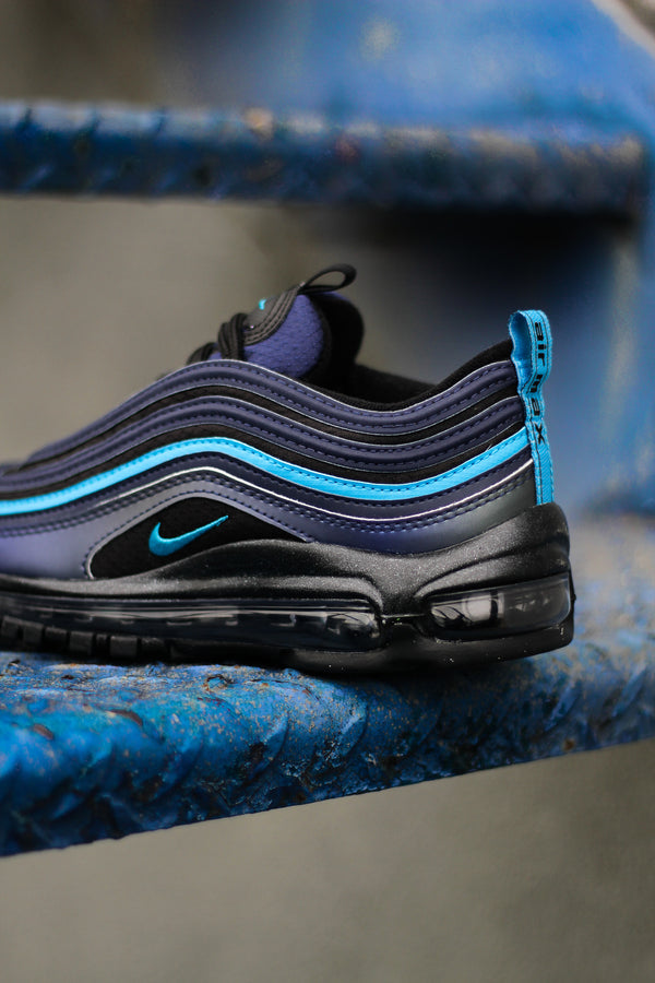 "AIR MAX 97 SE GS ""LASER BLUE"""