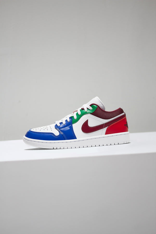 "W AIR JORDAN 1 LOW SE ""MULTICOLOR"""