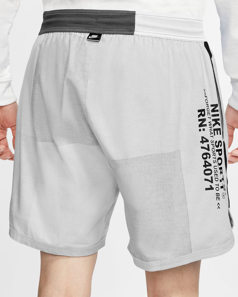 "NSW WOVEN SHORTS ""IRON GREY/BLK"""