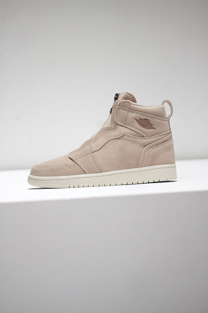 "W AIR JORDAN 1 HIGH ZIP ""PARTICLE BEIGE"""