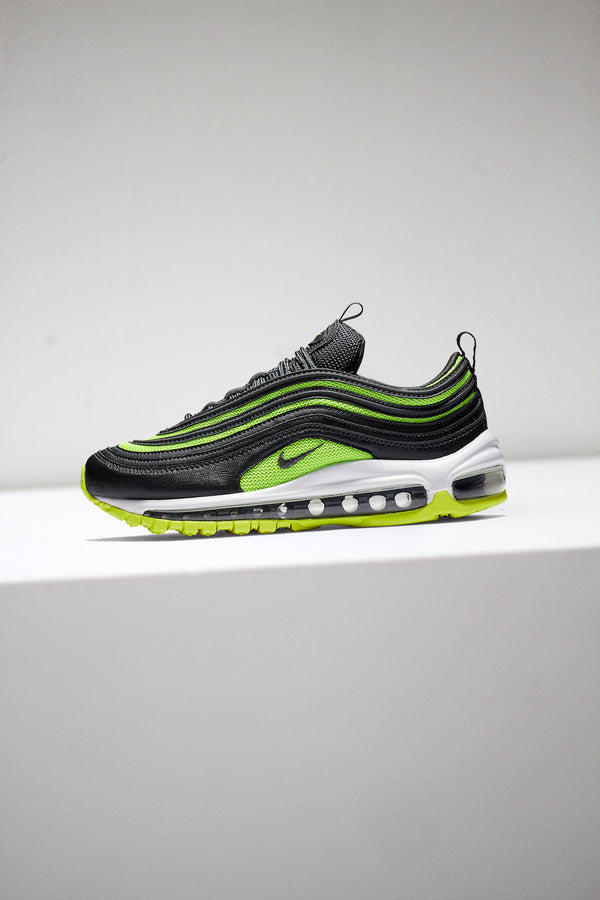 "W NIKE AIR MAX 97 ""BLK/NEON GREEN"""
