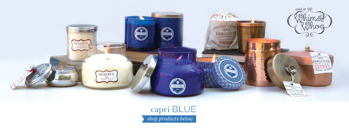 Whimsy Whoo Capri Blue Candles