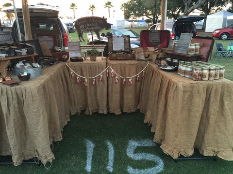 Christmas Under The Oaks.Our Markets And Shows Sweet Harvest Farms