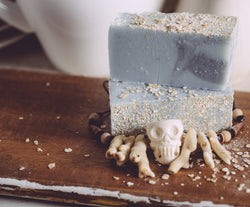 Sweet Harvest Farms Blackbeard Organic Handmade Soap All natural from scratch. This organic soap will last 8-10 weeks in the shower. We also offer our wholesale organic soap