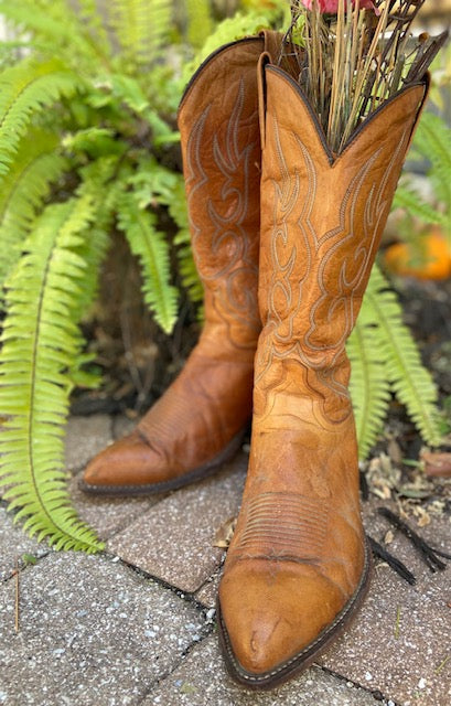 Vintage J. Chisholm Cowboy Boots. Excellent condition.