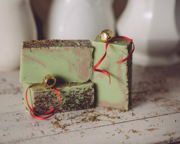 Christmas Thyme Seasonal Organic Handmade Soap