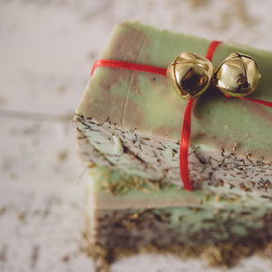 Christmas Thyme Organic Handmade Soap - Close your eyes and it's Christmas!