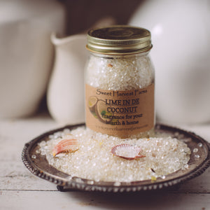Lime in de Coconut Aroma Beads Potpourri - This jar of beads will last forever!