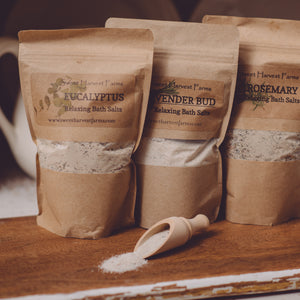Bath Salts - Organic, Relaxing, Therapeutic AND Food Grade Bentonite Clay for Detoxing Arm Pits