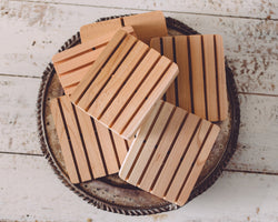 Untreated Cedar Soap Dishes