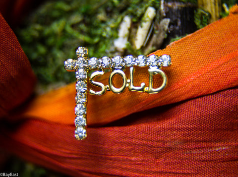 Sold Yard Sign Pin
