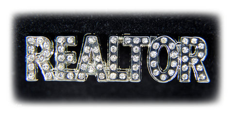 "Jeweled ""REALTOR"" Pin"