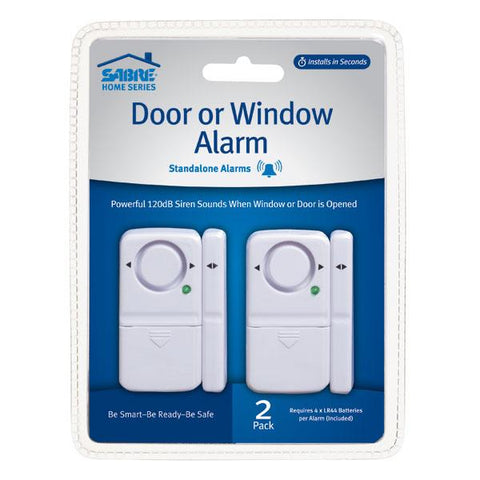 Door Or Window Alarm - 2 Pack