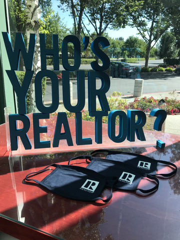 REALTOR® Logo face mask