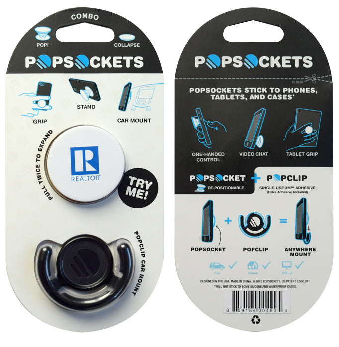 Popsocket Phone Grip With REALTOR¨ Logo