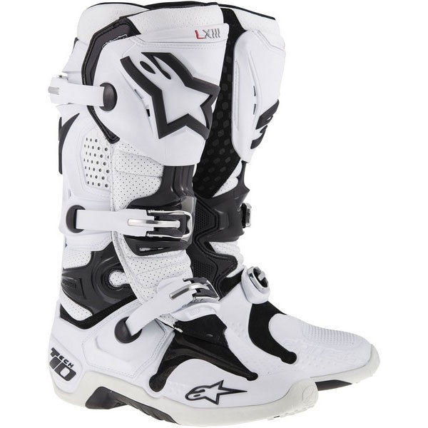 Kit Boot Alpinestars Tech 10 - 2014- White UK 7