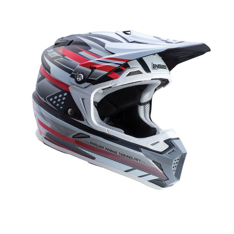 ANSWER HELMET AR5 2018 WHITE/BLACK (WITH MIPS)