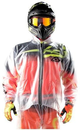 Acerbis 3.0 Rain Jacket Clear