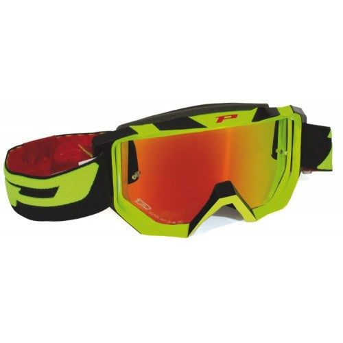 Kit Goggle ProGrip Venom 3200FL - - Orange Flo Blue