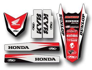 Trim Kit - Honda CRF250 2010-2013/ CRF450 2009-2012