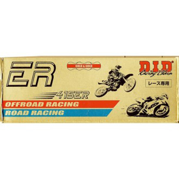DID 415 Gold Motocross Chain - 134 Links - 50cc