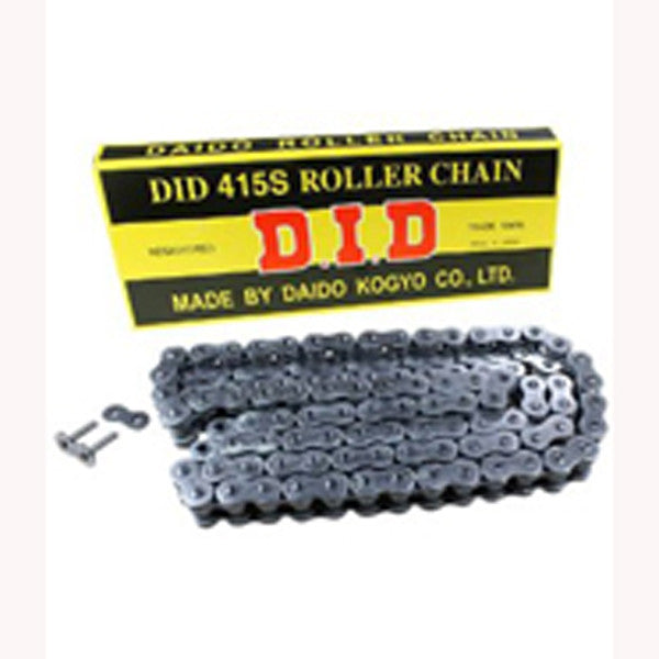 DID 415 Black Motocross Chain - 134 Links - 50cc