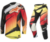 Alpinestars Techstar Venom Red/Yellow/Black Combo Kit