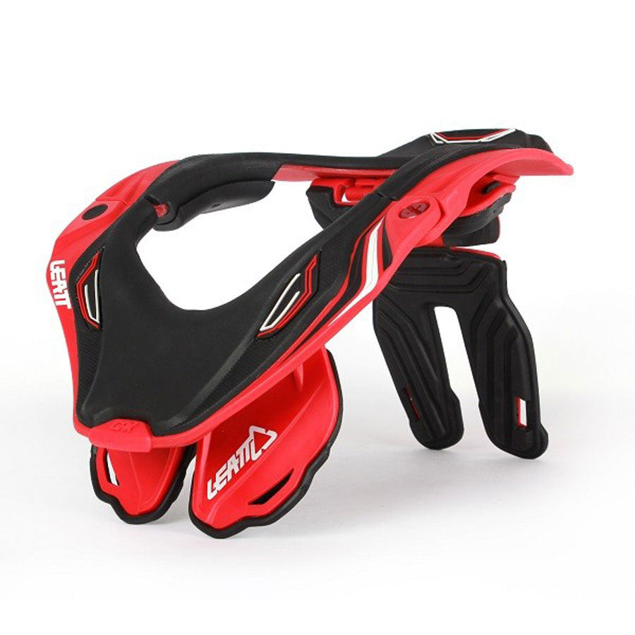 Kit Protection Neck Brace Leatt GPX 5-5 - - Black Red White S-Small M - Medium