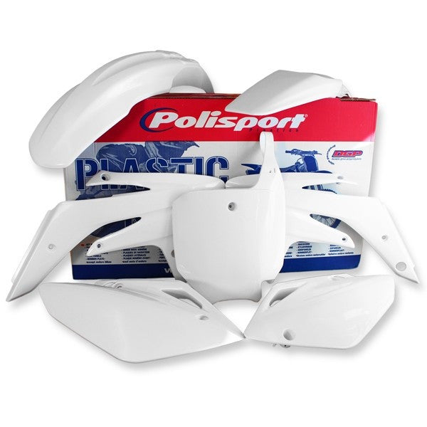 Polisport Honda Full Plastics Kit CRF250 06-07 White