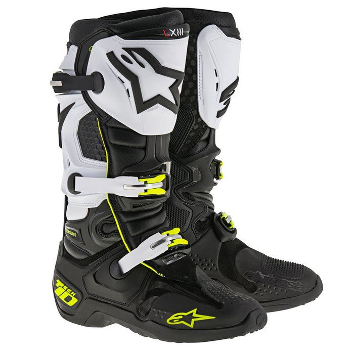 2018 Alpinestars Tech 10 Boot - Black/White