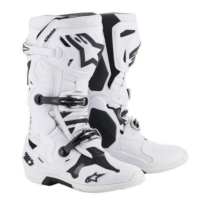 Kit Boot Alpinestars Tech 10- - White UK 14