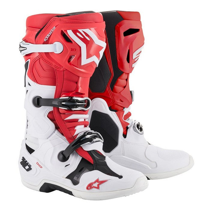 Kit Boot Alpinestars Tech 10- - Red White Black UK 14