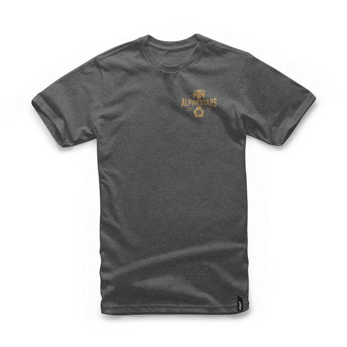 2018 Alpinestars Andres T-Shirt - Charcoal Heather