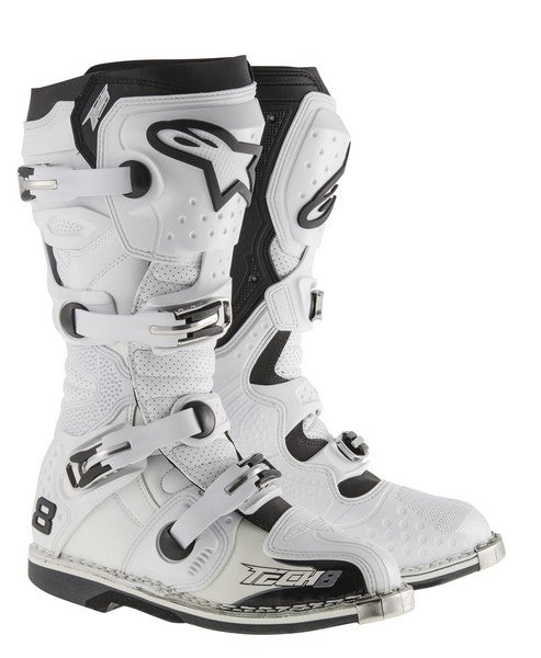 Tech 8 RS Alpinestars Boots - White *NEW*