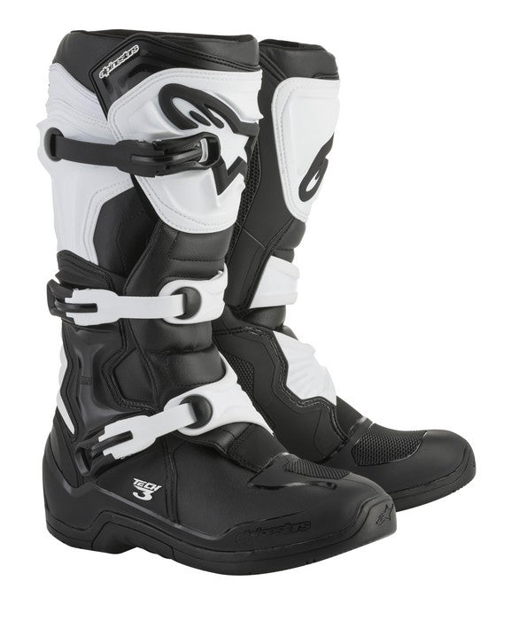 Kit Boot Alpinestars Tech 3- - Black White UK 14