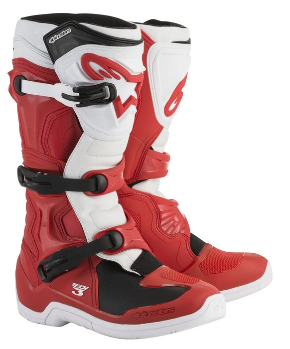 Kit Boot Alpinestars Tech 3- - Red White UK 13