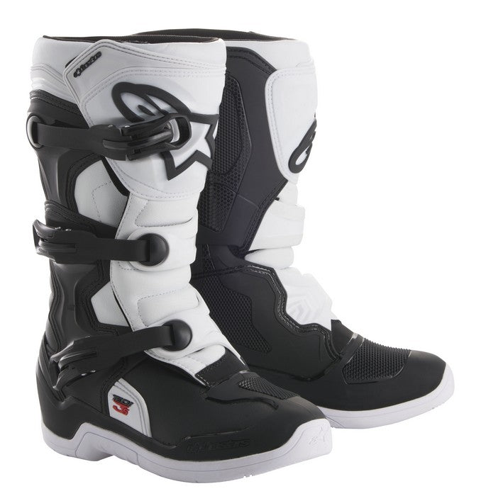 Kit Boot Alpinestars Tech 3SYouth- - Black White UK 05