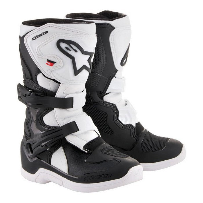 Kit Boot Alpinestars Tech 3SYouth - - Black White UK 01