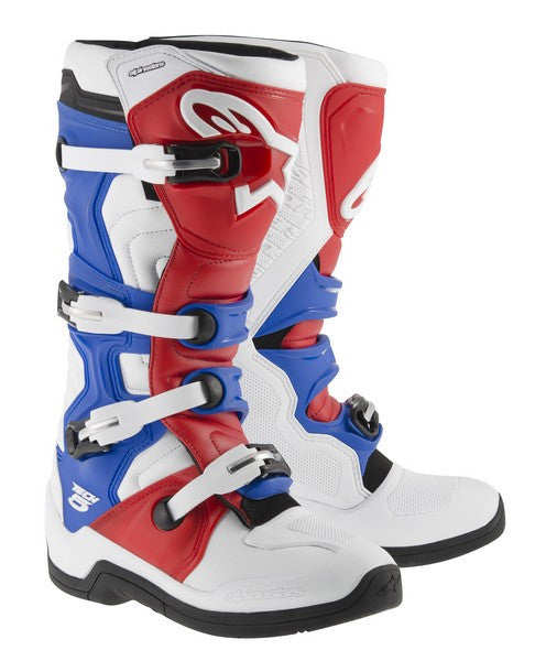 Kit Boot Alpinestars Tech 5 - - Red White Blue UK 6