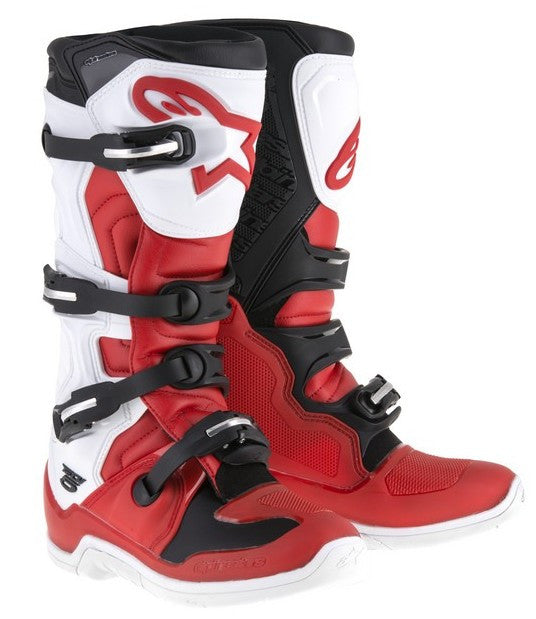 2018 Alpinestars Tech 5 Boots - Red/Black/White