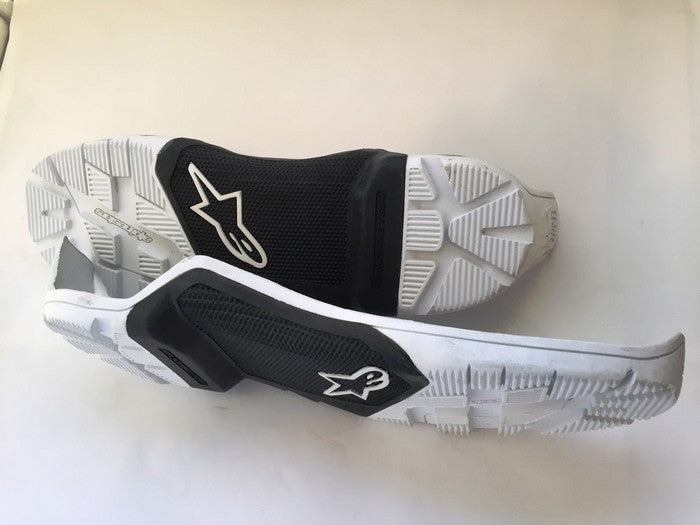 Kit Boot Accessories Sole Alpinestars Tech 7Enduro - - WhiteUK 14
