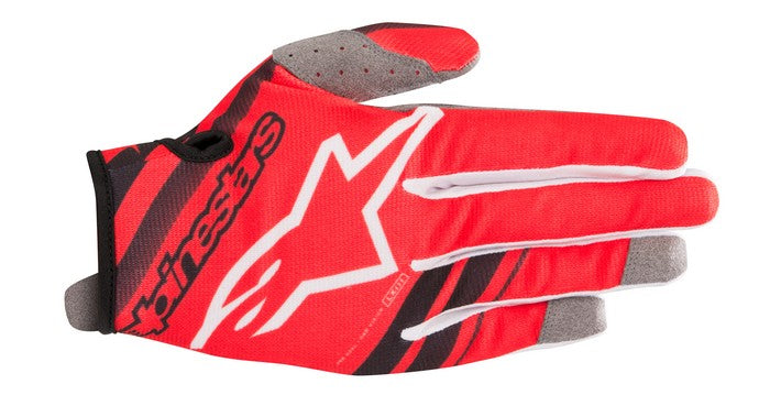 Kit Glove Alpinestars Radar Youth- 2019- Red Black XS - Extra Small
