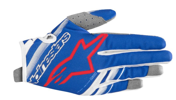 Kit Glove Alpinestars Radar Youth- 2019- BlueWhite Red XS - Extra Small