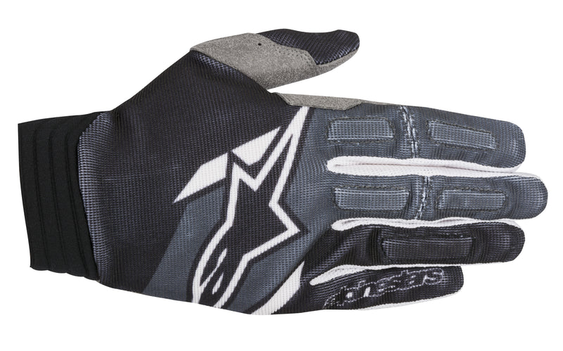 2018 Alpinestars Aviator Gloves Black Anthracite