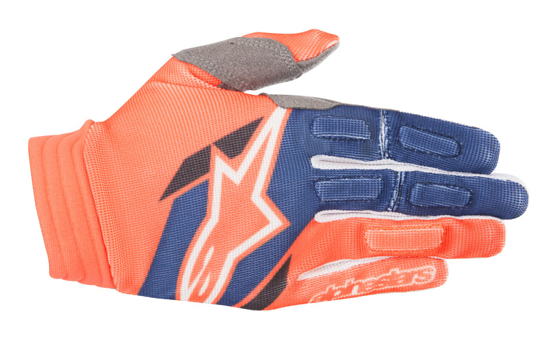 2018 Alpinestars Aviator Gloves Orange Blue