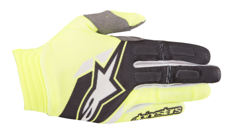 Kit Glove Alpinestars - 2018- Yellow Flo Black