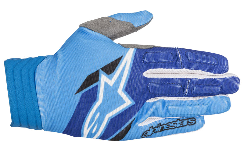 2018 Alpinestars Aviator Gloves Aqua Blue